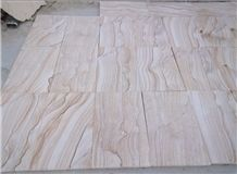 China Scenery Sandstone Tiles,Cut to Size for Walling & Flooring