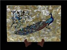 Multicolor Mother Of Pearl Inlay Home Decor