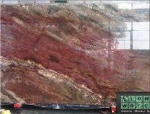 Ocean Bordeaux Granite 3cm Slabs