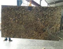 Pegasus Gold Granite 3cm Slabs, India Brown Granite