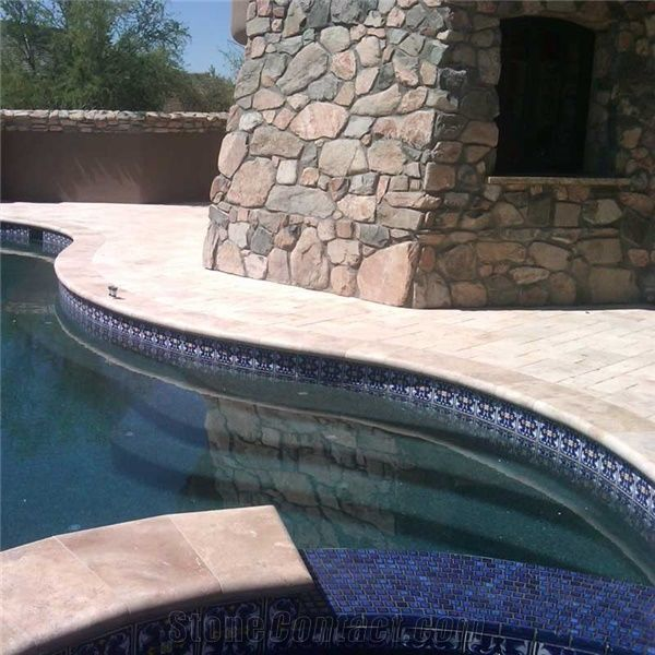 Travertine Coping Tile From United States Stonecontact Com
