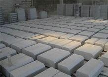 Stone Granite Table, White Natanz Granite Iran Kerbstone