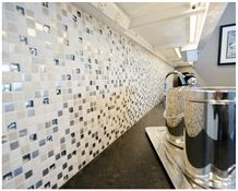 Stargate Cosmos Granite Kitchen Installation and Mosaic Backsplash