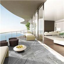 Fantastic Silver Travertine Balcony Flooring