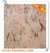 Sivakasi Pink Granite Tile & Slabs, Wall Tile for Wall Design & Decoration