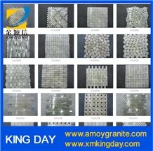 China Multicolor Marble Mosaic Floor Tiles