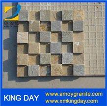 Grey Slate Mosaic,Natural Slate