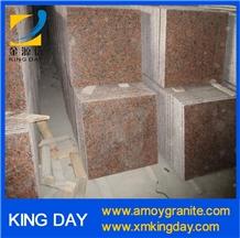 Red Granite Tile G562,Flamed G562