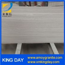 Wooden White Marble,Light Wood Grain Marble,Wooden Grain Marble Slab