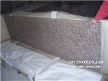 G687 Granite,Polished,Gutian Peach Red Kitchen Countertops