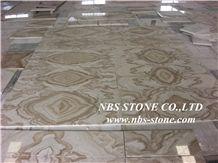 Jade Brown Onyx Slabs & Tiles,Onyx Wall Tiles