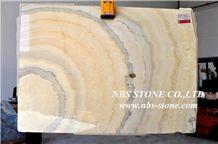 Jade Golden Sunshine Onyx Slabs & Tiles