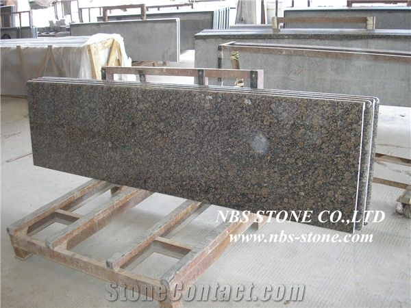 Natural Baltic Brown Granite Philippines Brown Countertop