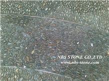 Polished Black Pebbles, Black Granite Pebble & Gravel