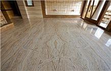 White Traveronyx Floor Tiles, White Traonyx, Beige Onyx Iran Tiles & Slabs