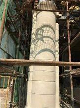 Chinese Beige Sandstone Column/Stone Column/Sandstone Column/Granite Column/Marble Column/Sandstone