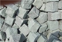 China Green Sandstone Cube Stone, Floor Covering