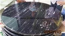 Silver Dragon Marble Round Table Tops