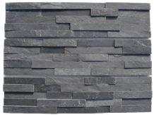 Culture Stone Slate,Black Slate Wall Panel,Hebei Black Slate Cultured Stone Panel,Culture Stone Corner,Natural Culture Stone