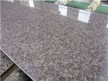 China Cheap Granite G687 Peach Red,Cherry Pink,Cherry Brown,Polished Granite Long Slabs,60cm/70cm/80cm Height,Length 240cm up