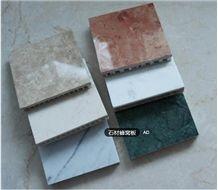 Calcutta Marble Laminated Aluminum Honeycomb