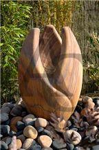 Sandstone Carved Garden Ornament