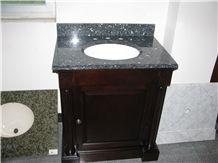 China Absolute Black Granite Kitchen Countertops