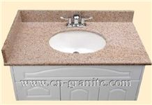 Red Granite and Wooden Counter,Red Granite and Wooden Counter Manufacturer,Supplier,Bathroom Vanity Tops,Granite Vanity Tops