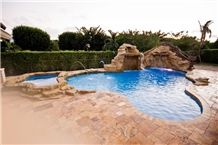 Da Vinci French Pattern Pool Pavers