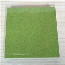 Apple Green Artificial Quartz Stone Slab&Tile Of Low Water Absorption But Cheap Pricing Suitable for Worktop Table Top Projects More Durable Than Granite Thickness 2cm or 3cm