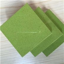 Artificial Quartz Stone Slab&Tile Apple Green Directly from China Manufacturer at Cheap Pricing More Durable Than Granite Thickness 2cm or 3cm