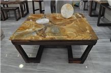 Brazil Luxury Palomino Quartzite Table Tops/Tea Table Top