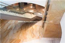 Luxury Giallo Macaubas Quartzite Floor Tiles,Brazil Yellow Quartzite Tiles