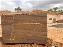 Luxury Natural Elegant Brown Quartzite Blocks