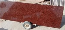 New Imperial Red Granite Slabs & Tiles, India Red Granite, Flower Red Granite