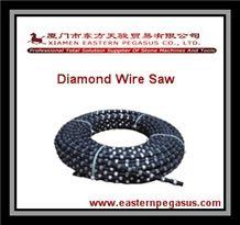Diamond Wire Saw, Quarry Diamond Wire, Quarry Stone Working Tools, Granite Diamond Wire, Marble Diamond Wire, Stone Cutting Diamond Wire, Diamond Wire for Wire Saw Machine