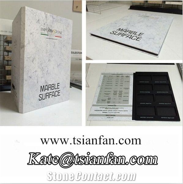 py070 eva display stone sample catalogue from china