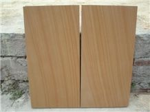 China Yellow Sandstone Slabs & Tiles