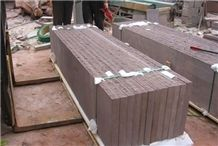 Purple Wooden Sandstone,Peach Wood Sandstone Slabs & Tiles