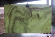 China Green Onyx Slabs & Tiles