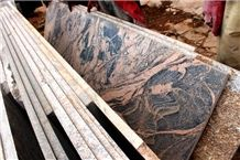 African Multicolor Granite Slabs
