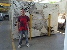 Patagonia Quartzite Slabs Brazil White Quartzite