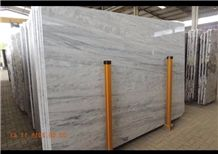 Shadow Storm White Marble Slabs