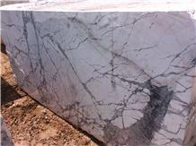 White Calacatta Marble Blocks,