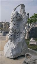 China Grey Granite Tigers/Leopard/ Jaguar/Mascot/King Of Forest, Chinese Carving/Carving Art