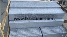 G383 Granite Stairs & Step, Pearl Flower Stairs&Steps,Royal Pearl Granite Steps Risers,China Pink Granite Stairs Risers