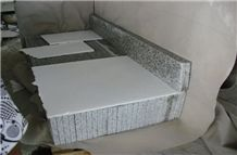 G655 White Granite Stairs & Steps, G655 Flamed Granite Stairs & Steps