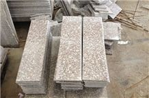 G664,Bainbrook Brown Polished Granite Stairs & Steps, Loyuan Red Granite Stairs & Steps