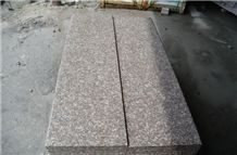 G687 Flamed Granite Stairs & Steps,G687 Red Granite Stairs & Steps