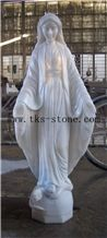 Virgin Mary Sculpture/Mother Of God/The Queen Of Grace